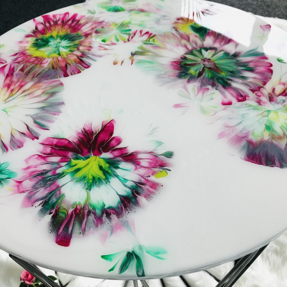 Resin side table set