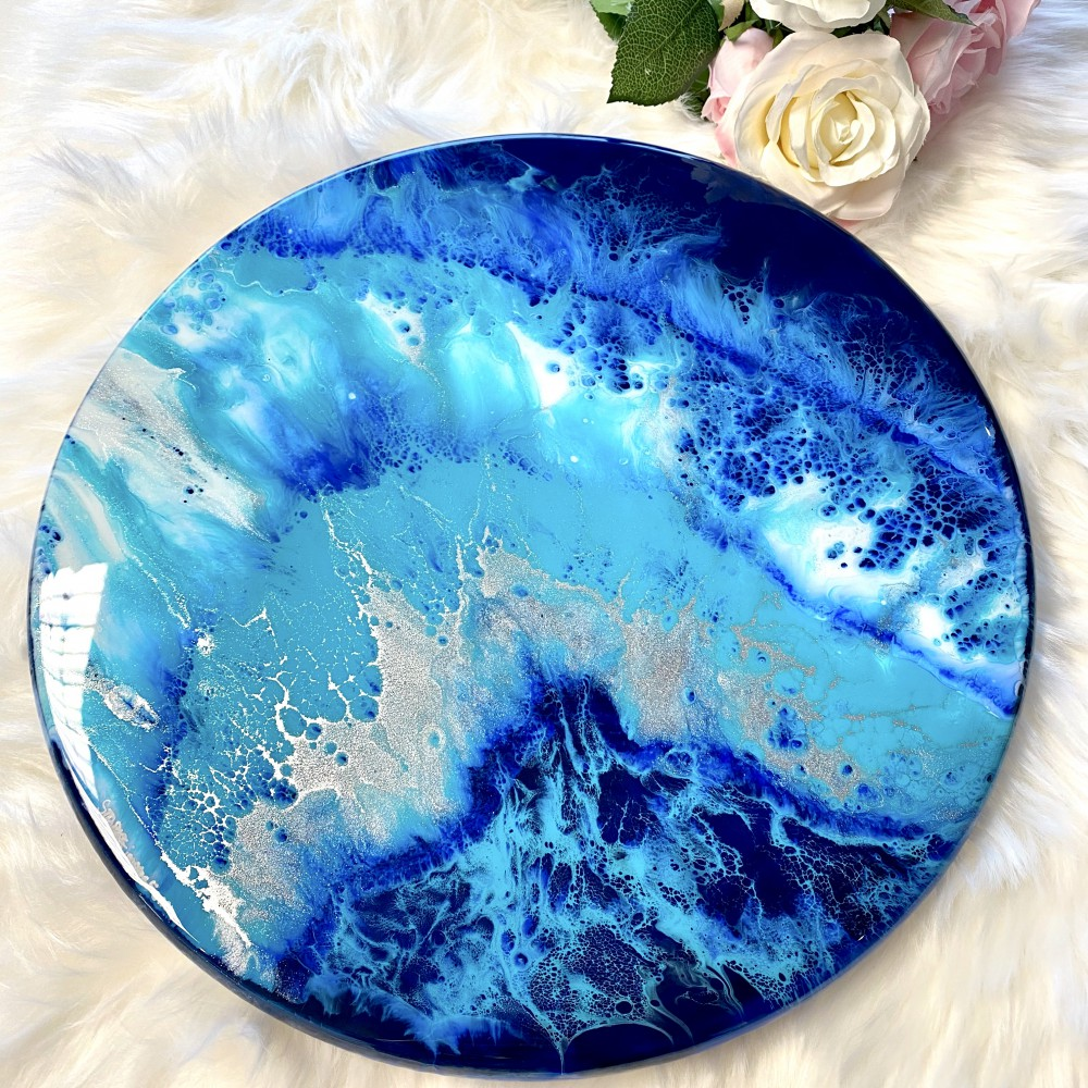 Resin Turntable Waterfall