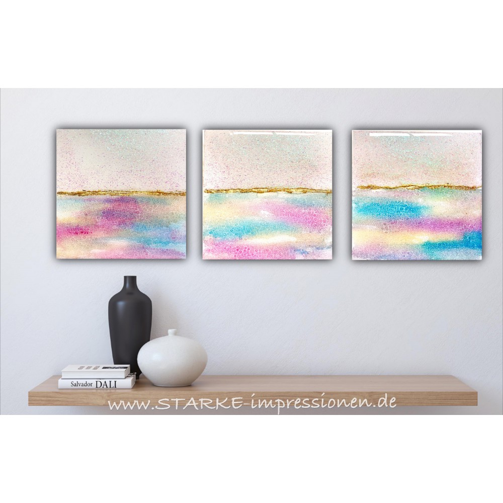 "Resin artwork ""Pasteldream 2"""