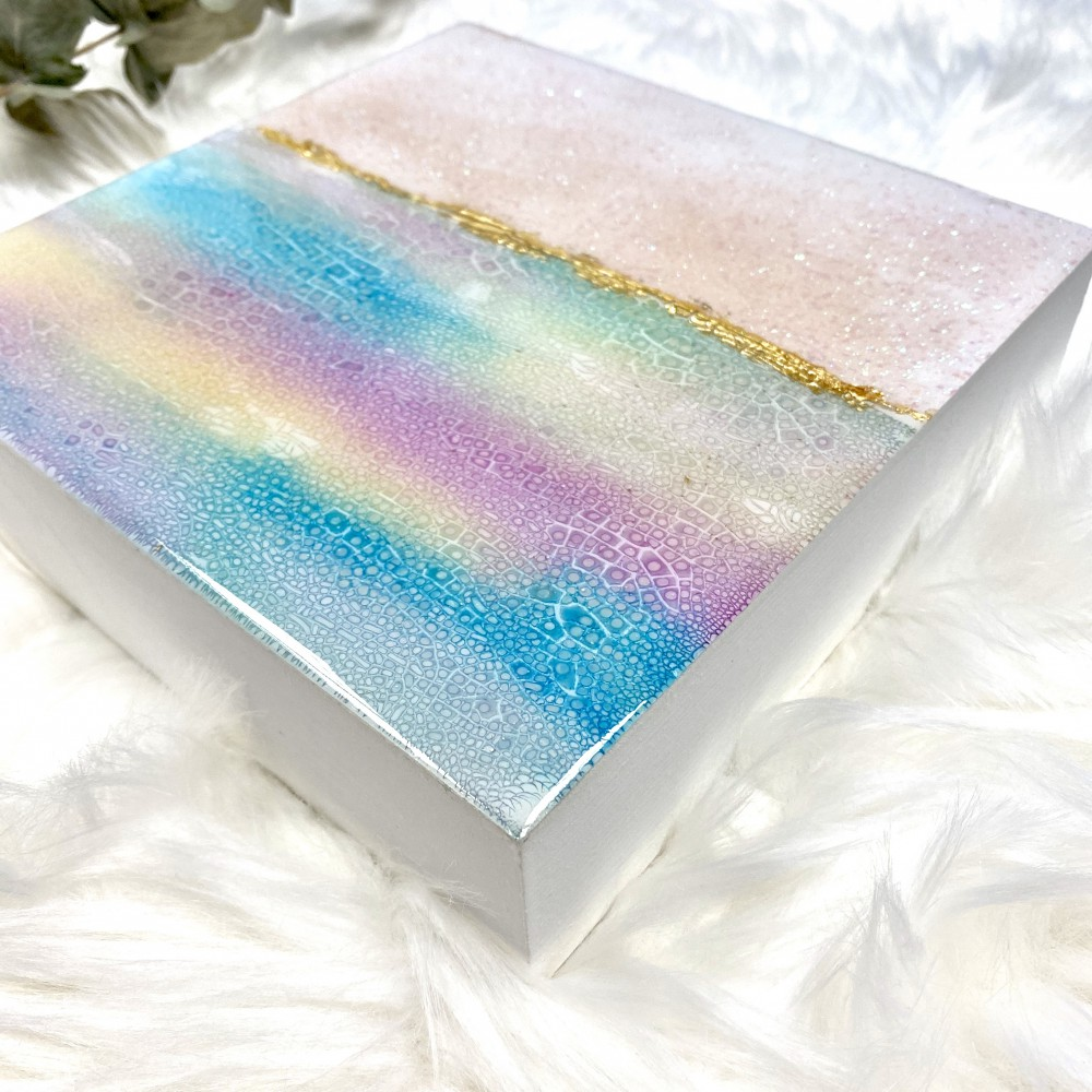 "Resin artwork ""Pasteldream 3"""