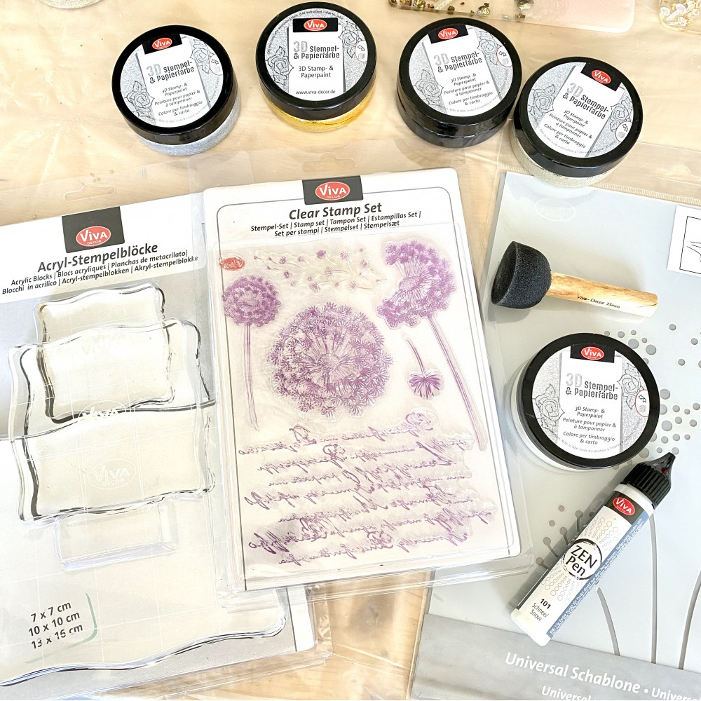Stencils, stamps and more