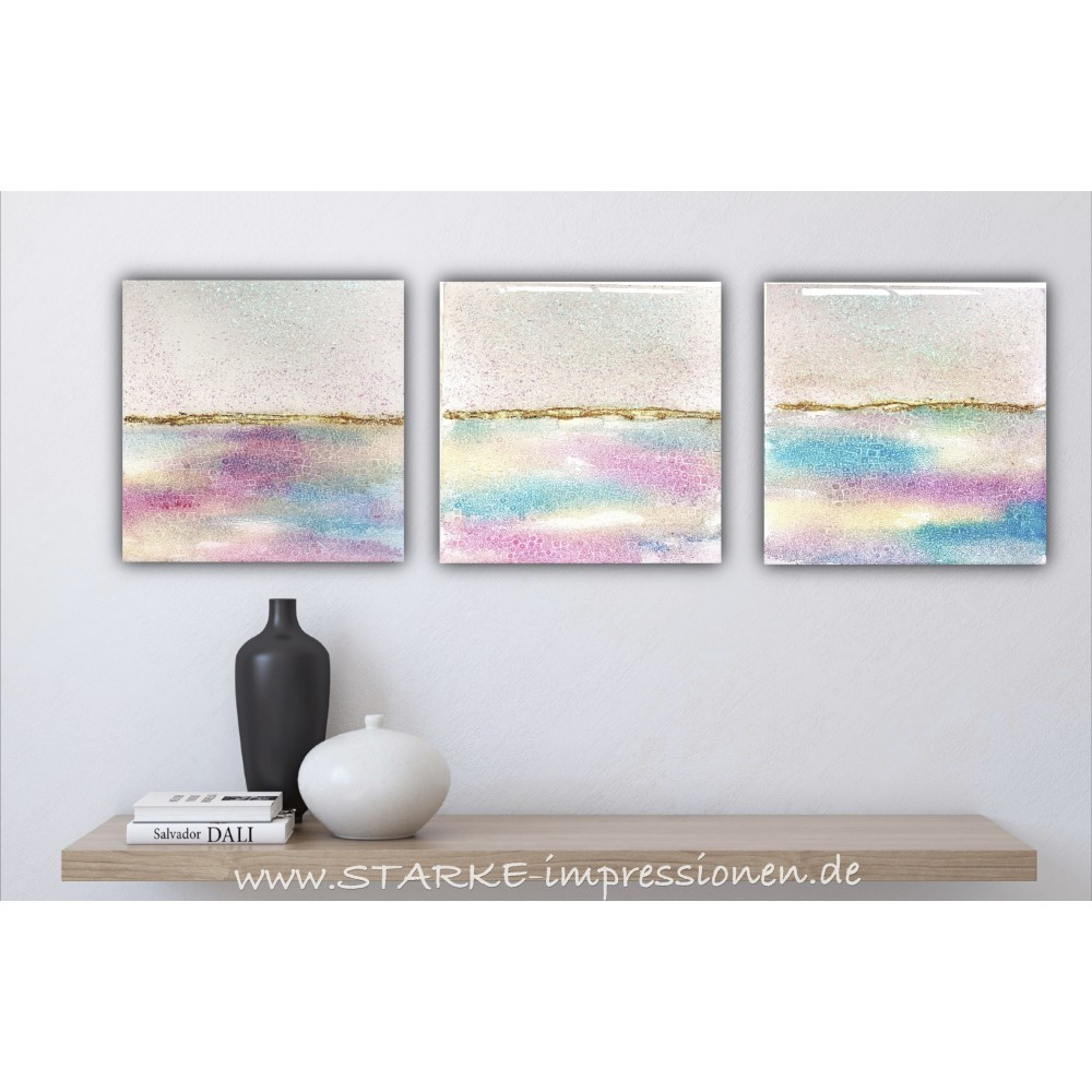 "Resin artworks ""Pasteldream set"""