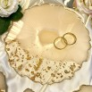 Resin engagement set Precious champagner