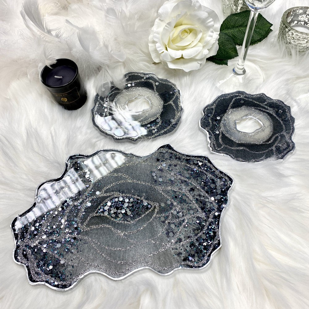 Engagement Set Glam Silver S