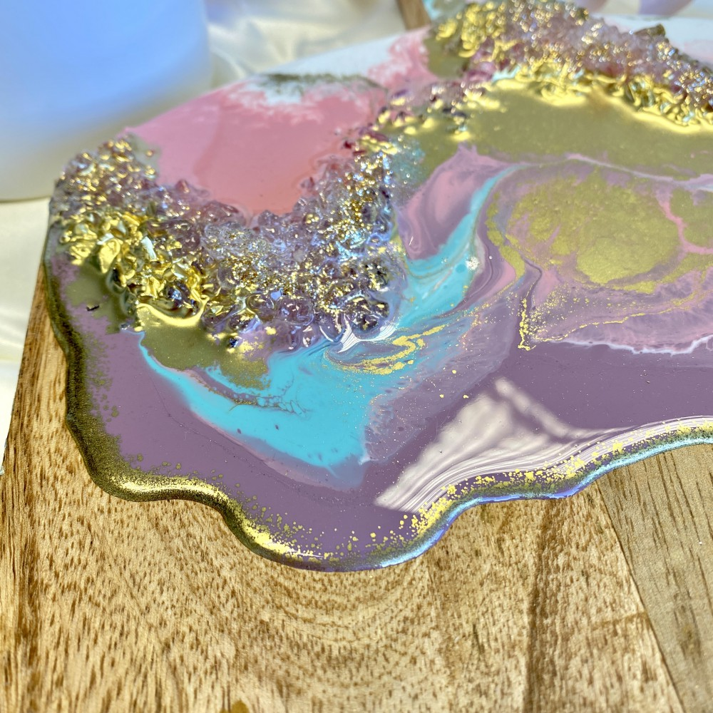 serving tray Pastel love