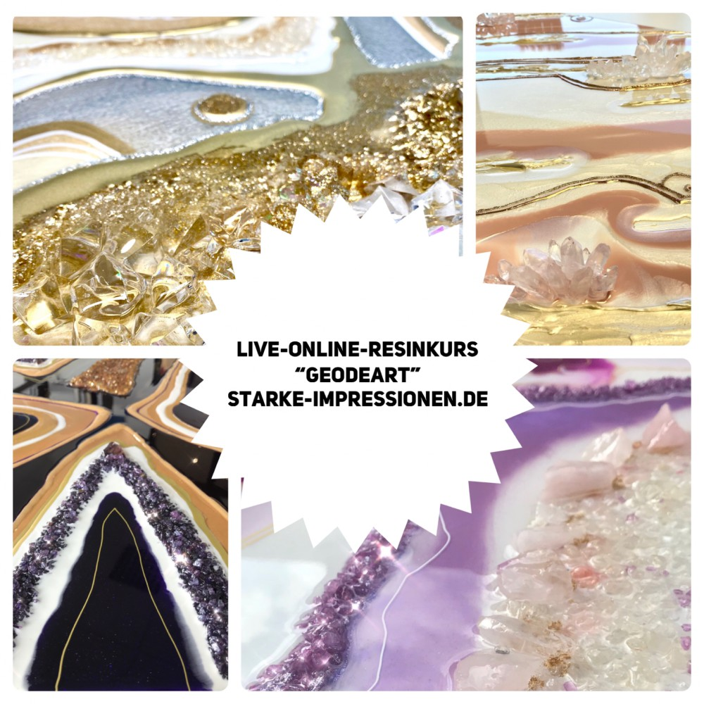Online resin class  Zoom 21.06.2021 -fully booked-